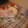 フエルトのケーキ